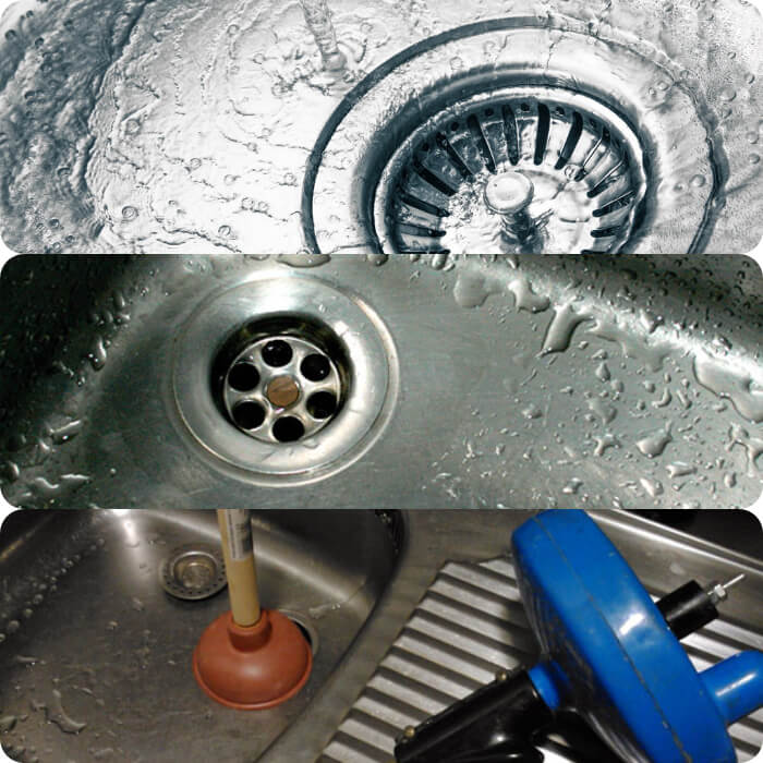 como arreglar el atasco de la pila de la cocina y fregadero