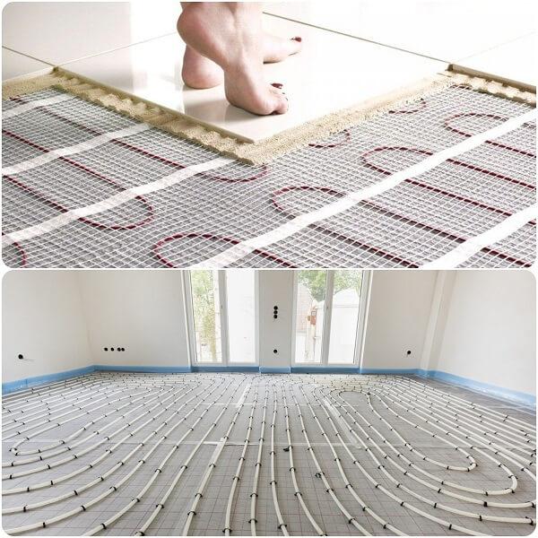 el suelo radiante es un tipo de calefaccion