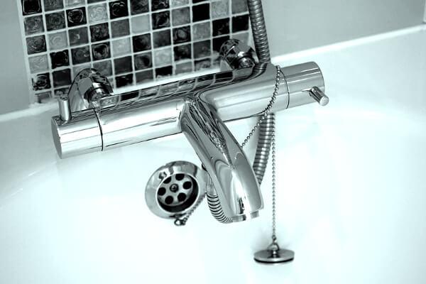 grifo de baño o bañera